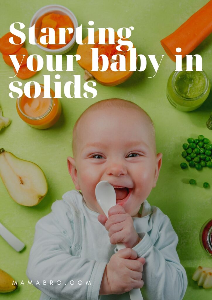 Starting your baby in solids