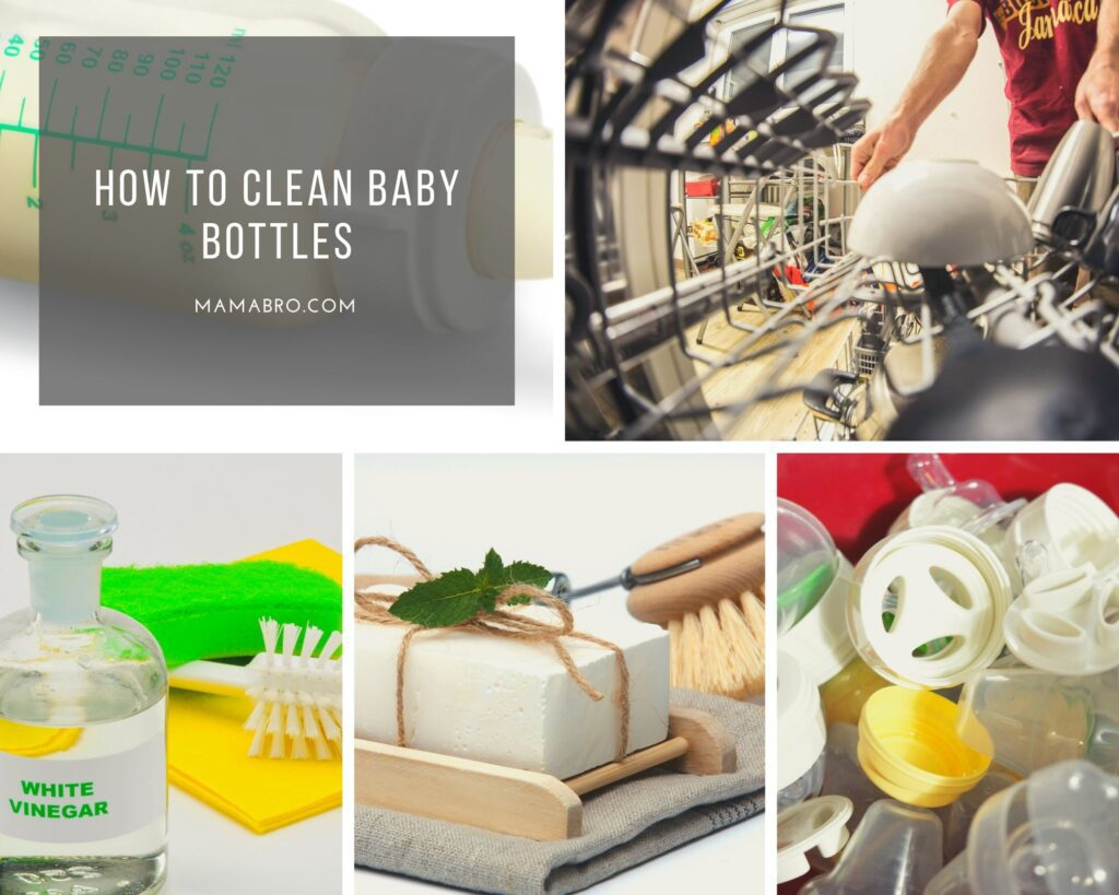 How to Clean Baby Bottles