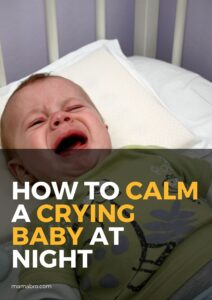 How to Calm a Crying Baby at Night