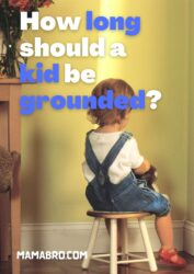 How long Should a kid be grounded_