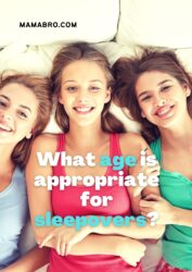 What age is appropriate for sleepovers