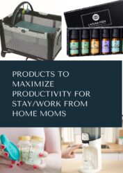 Products to Maximize Productivity for StayWork From Home Moms